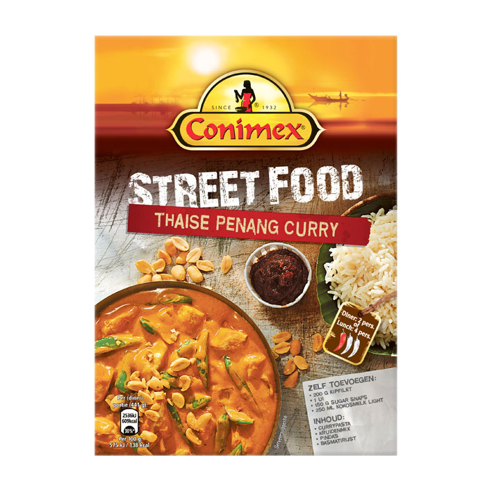 Een afbeelding van Conimex Street food kit - Thaise penang curry