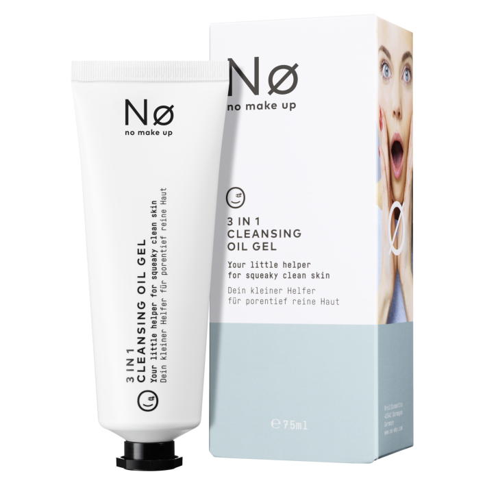 Een afbeelding van No Make Up Fresh today 3in1 cleansing oil gel