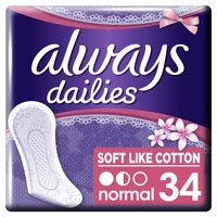 Een afbeelding van Always Dailies soft like cotton inlegkruisjes